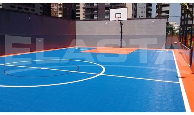 Tamanhos e normas para pisos de quadras poliesportivas
