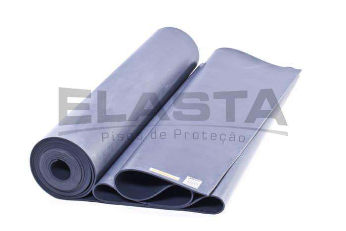 O que é um lençol isolante de borracha?
